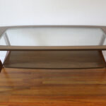 glass insert ked vintage mcm coffee table end with furniture row las cruces thomasville burlington ethan allen full length mirror sofa round tures tables behind couches camel 150x150