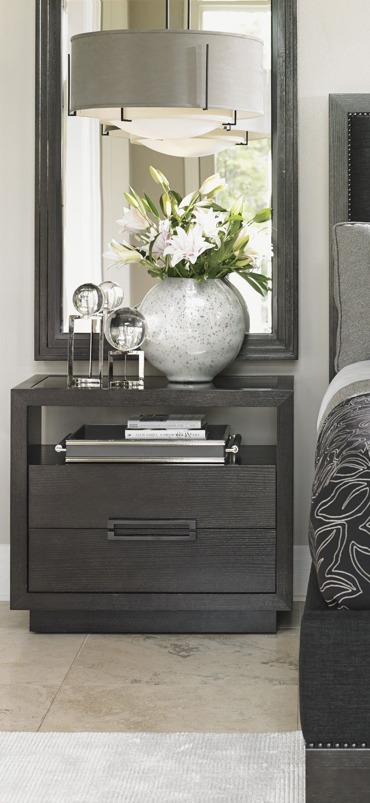 grey nightstand bedroom decor ideas luxury furniture interior end tables design home for more inspirational take look gray nesting wrought iron table how many coats polyurethane