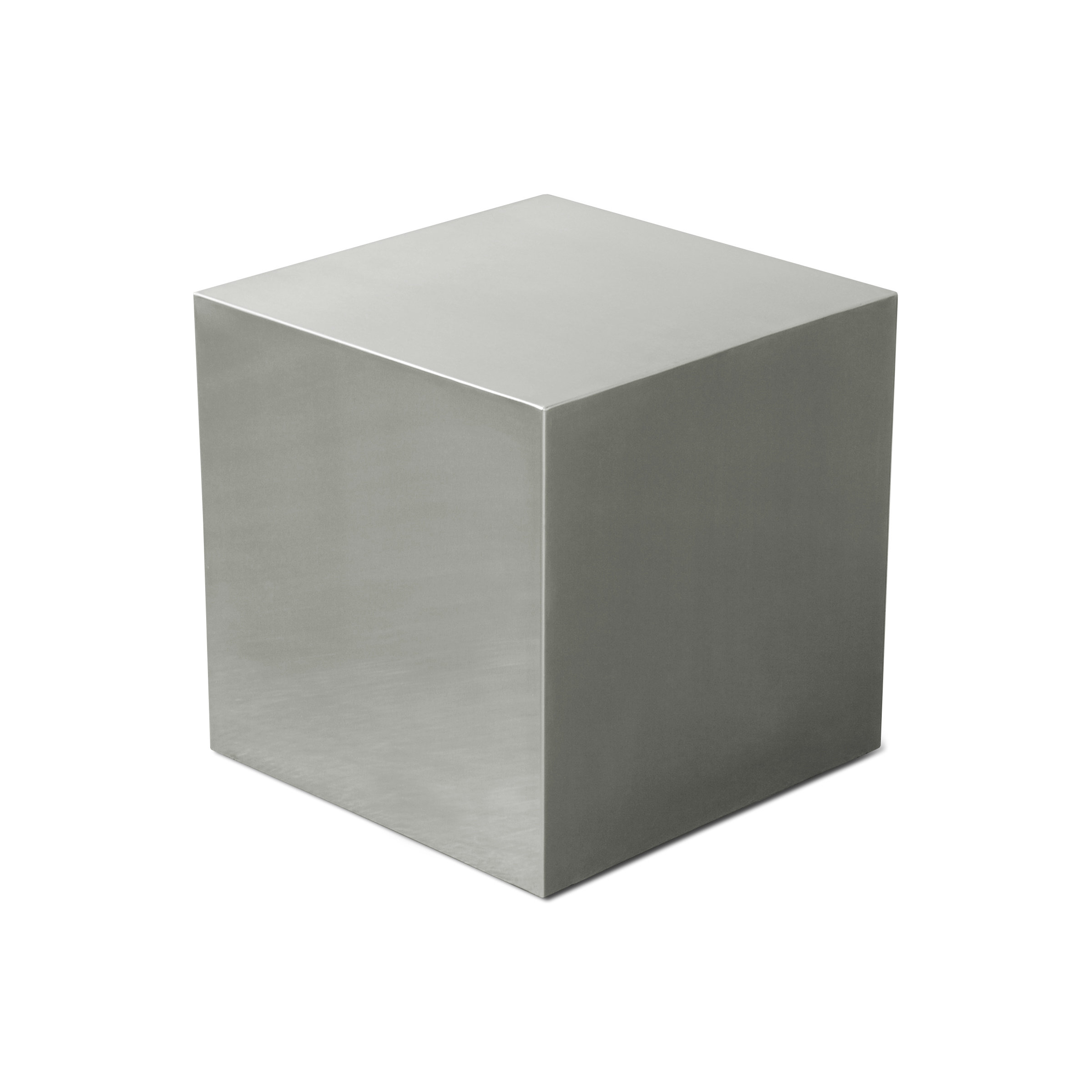 gus modern stainless steel cube end table reviews black our sites lamps and floor round nic liberty furniture showroom large double dog crate circle nightstand marble top coffee
