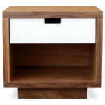 gus modern wilson end table eurway furniture walnut white lacquer tables great nightstands round seats leons accent pewter side ashley key outdoor accents logs slim bathroom 150x150