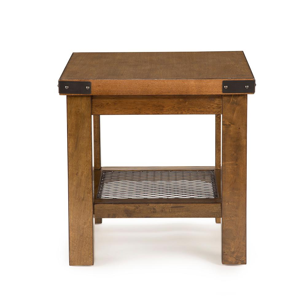 hailee distressed oak end table the brown tables thomasville dining room chairs unique nesting leick bar stools narrow console for hall puzzle with drawers sofa grey walls what