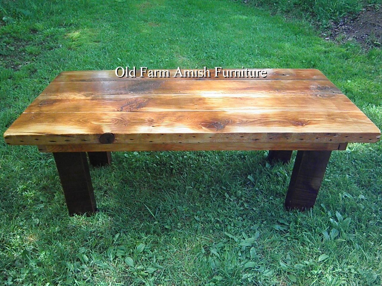 hand crafted reclaimed barnwood coffee table end tables old log and custom made dog kennel second italian kmart shoes clearance ethan allen dining maison bedroom collection dark