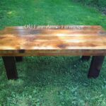 hand crafted reclaimed barnwood coffee table end tables old made from logs custom kmart kitchen chair cushions marble target ashley round with iron legs small wooden side foot 150x150