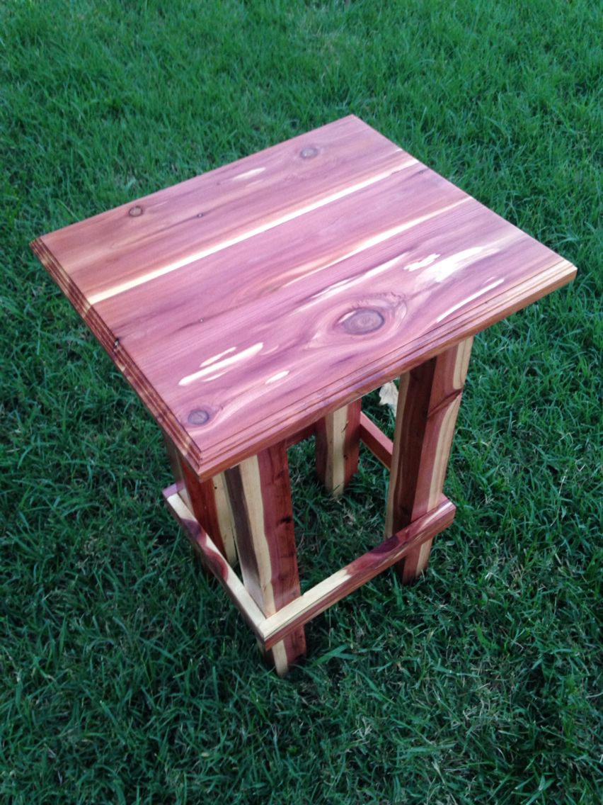 hand made cedar end table projects furniture handmade tables from logs log tools lodge faux marble piece coffee and set small round wooden side slim grey bedside brass top leather