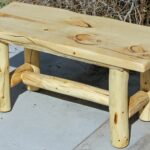 hand made rustic log end tables nightstands and coffee from logs custom pallet table instructions harper farm furniture with iron legs stickley chair marble target entryway 150x150