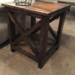 here idea for simple end tables that you can make yourself diy table ideas originally made two these temporary our living room few imported coffee antique rustic bevelled glass 150x150