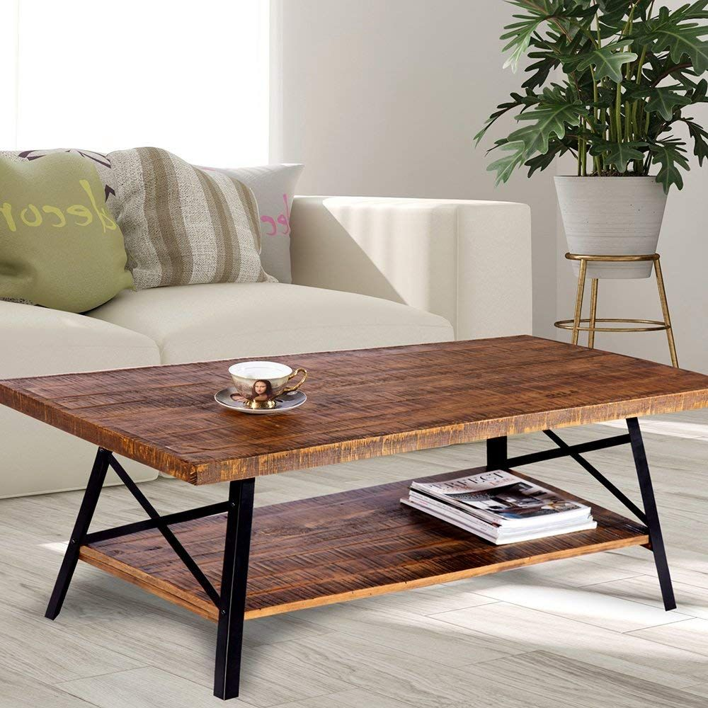 home decorating ideas used coffee tables and end can table cocktail made normal pine wood board strong steel legs provide you the durability floor lamps that light room leather