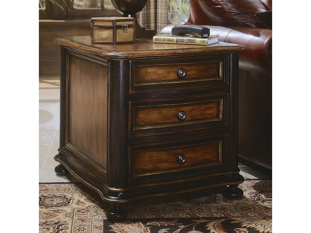 hooker furniture preston ridge chairside chest dunk products color end table drawers ridgeend inch decorator thomasville kennesaw large square coffee modern farmhouse floor and