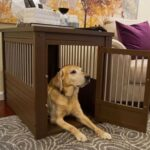hot large dog kennel cage crate pet eco wood end table oversized puppy furniture supplies lift top coffee round black industrial diy inch glass magnolia farms barn style refinish 150x150