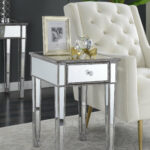 house hampton claybrooks mirrored end table with drawer reviews cuisinart meat claws pet furniture for dogs powell home furnishings vintage metal patio chairs winners homesense 150x150