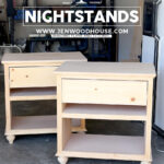 how build diy nightstand bedside tables nightstands feature bedroom end building plans jen woodhouse lakeland mills cedar log table natural living room ideas broyhill farm cast 150x150
