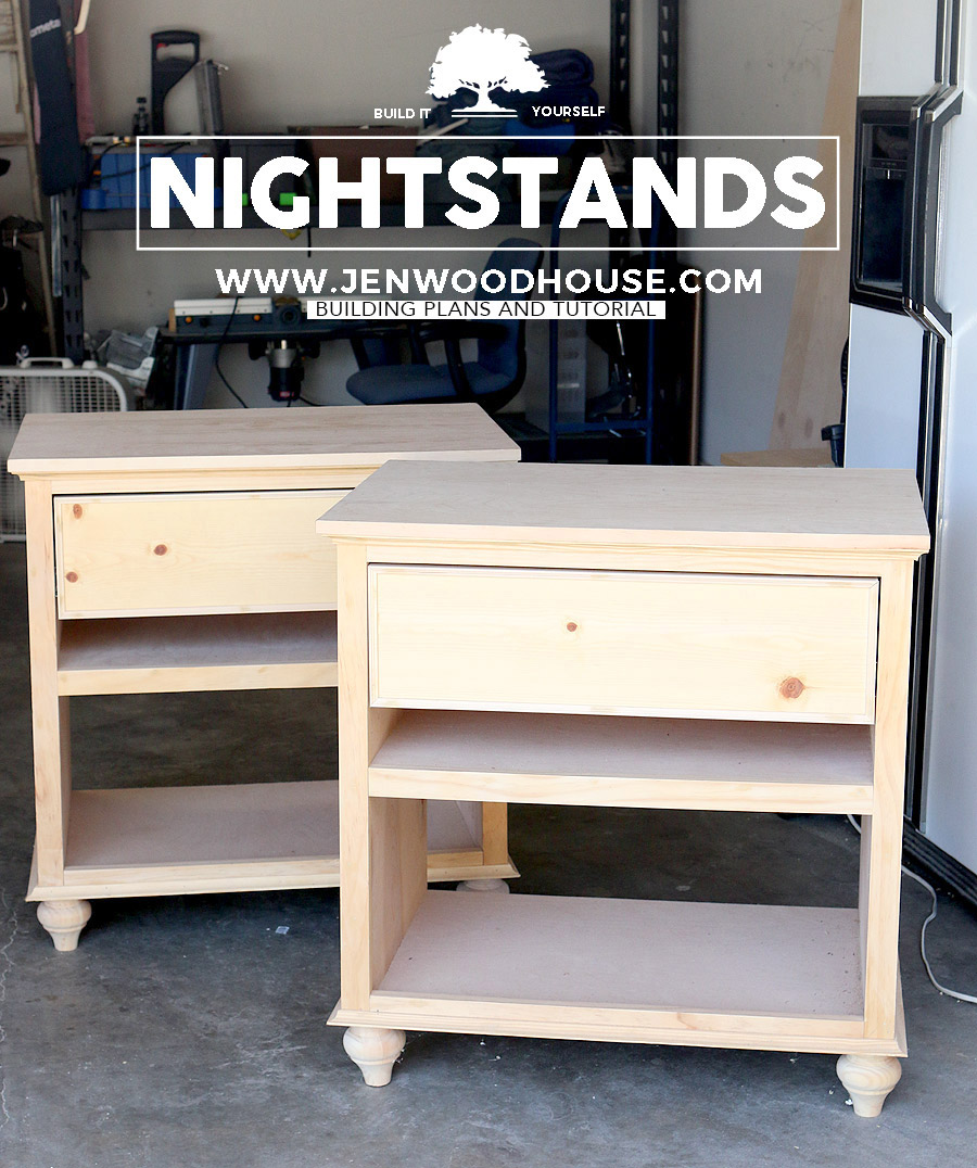 how build diy nightstand bedside tables nightstands feature bedroom end building plans jen woodhouse lakeland mills cedar log table natural living room ideas broyhill farm cast