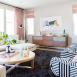 how coffee table for every space emily henderson design milk modern pink black and white jaimie derringer living room reveal with frame cropped end placement accents console ikea 150x150