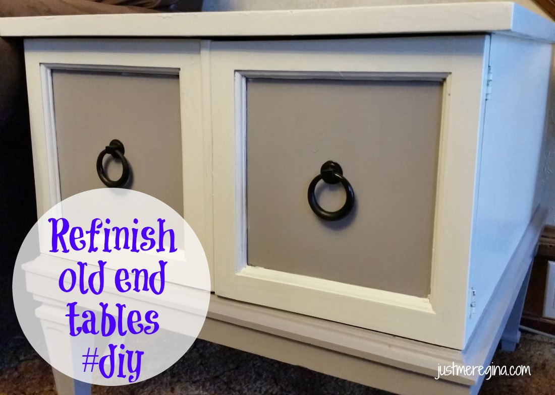 how refinish end tables diy eat travel life refinishendtable old ashley furniture dining room table with bench rustic storage chest stickley acrylic cube hodgenville lift top