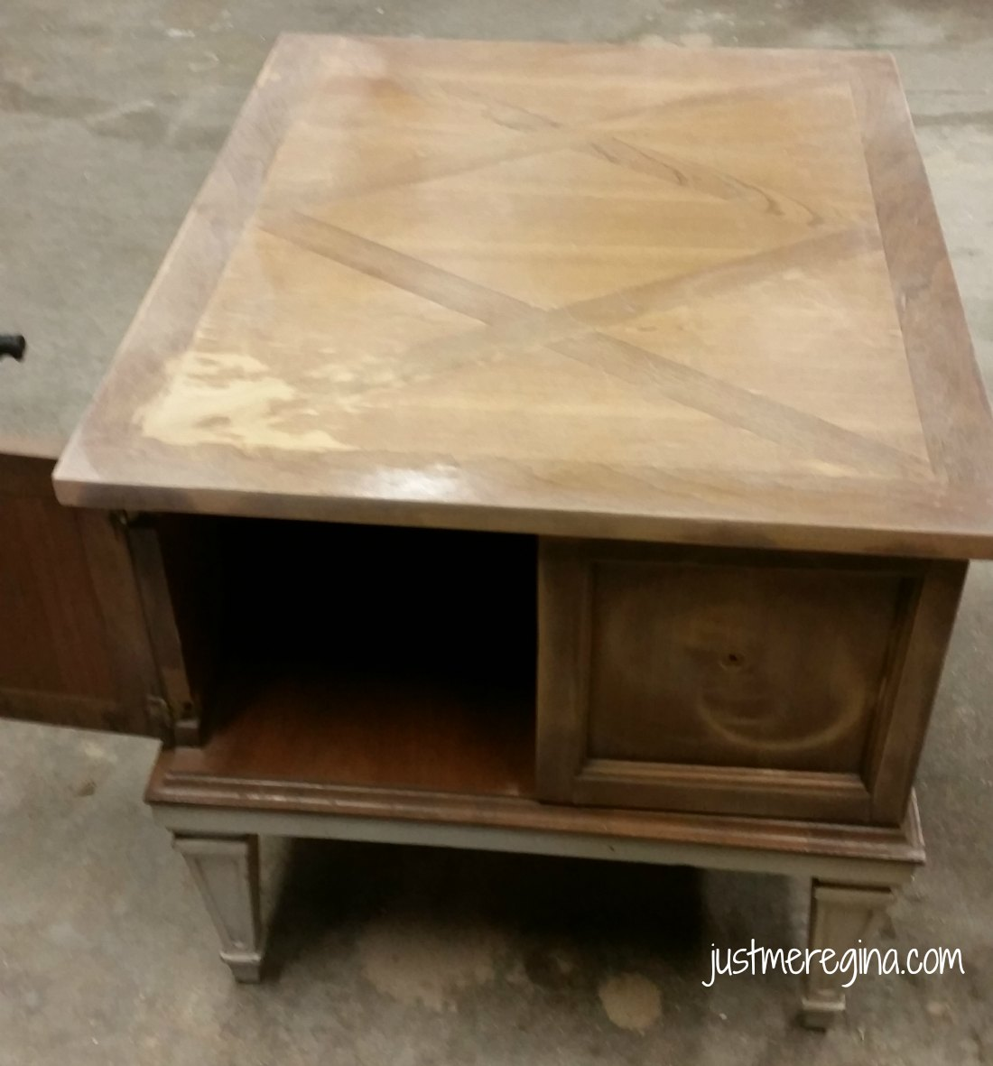 how refinish end tables diy eat travel life turn tired table into the you always wanted refinishing furniture best dog crates for large dogs tall oak nightstand corner bathroom