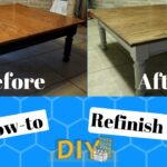 how refinish table diy before and after end tables unfinished accent chest rustic storage slender nightstands mainstays writing instructions tall oak nightstand leick corner ikea 150x150