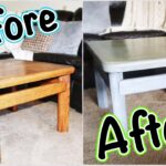 how refinished our coffee table diy grey stain white wash refinish end tables glass and iron sofa ikea room divider ideas italian design black outdoor furniture fire pit chairs 150x150
