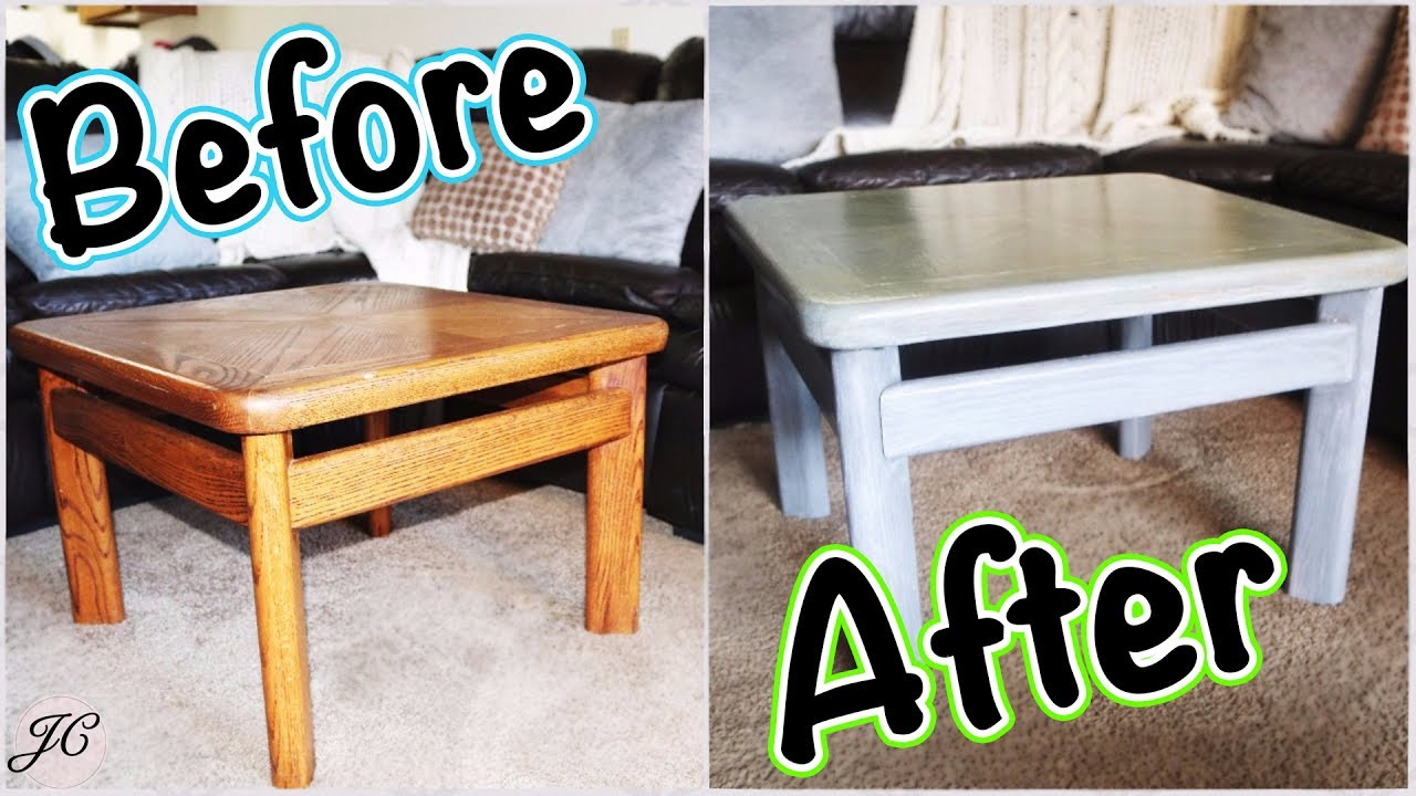how refinished our coffee table diy grey stain white wash refinish end tables glass and iron sofa ikea room divider ideas italian design black outdoor furniture fire pit chairs