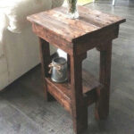 incredible diy end tables simple table ideas the family pallet rustic affordable cherry wood accent small dog pet cage modern breakfast contemporary office furniture ethan allen 150x150