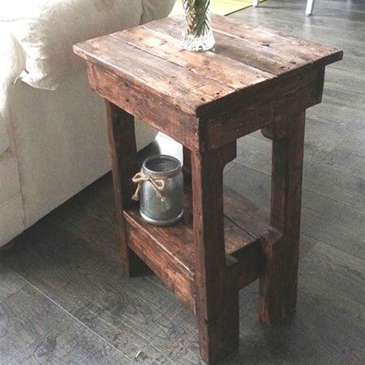 incredible diy end tables simple table ideas the family pallet rustic affordable cherry wood accent small dog pet cage modern breakfast contemporary office furniture ethan allen