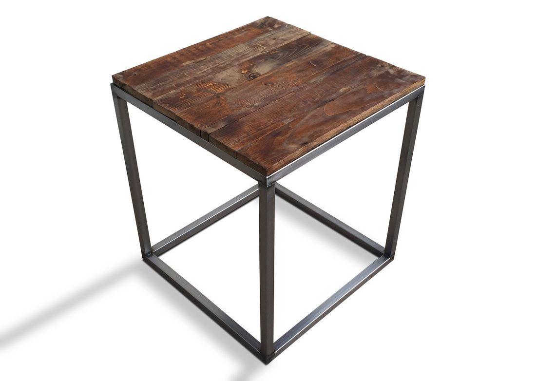 industrial coffee cocktail side table modern and end tables denver loft furniture religious calendar wood top metal legs small office acrylic accent mirrored ashley center pulaski