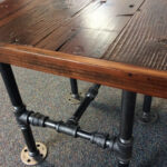 industrial square end table with reclaimed wood and black pipe etsy fullxfull french country style tables popular lamps modern furniture ethan allen tier floor unfinished kitchen 150x150