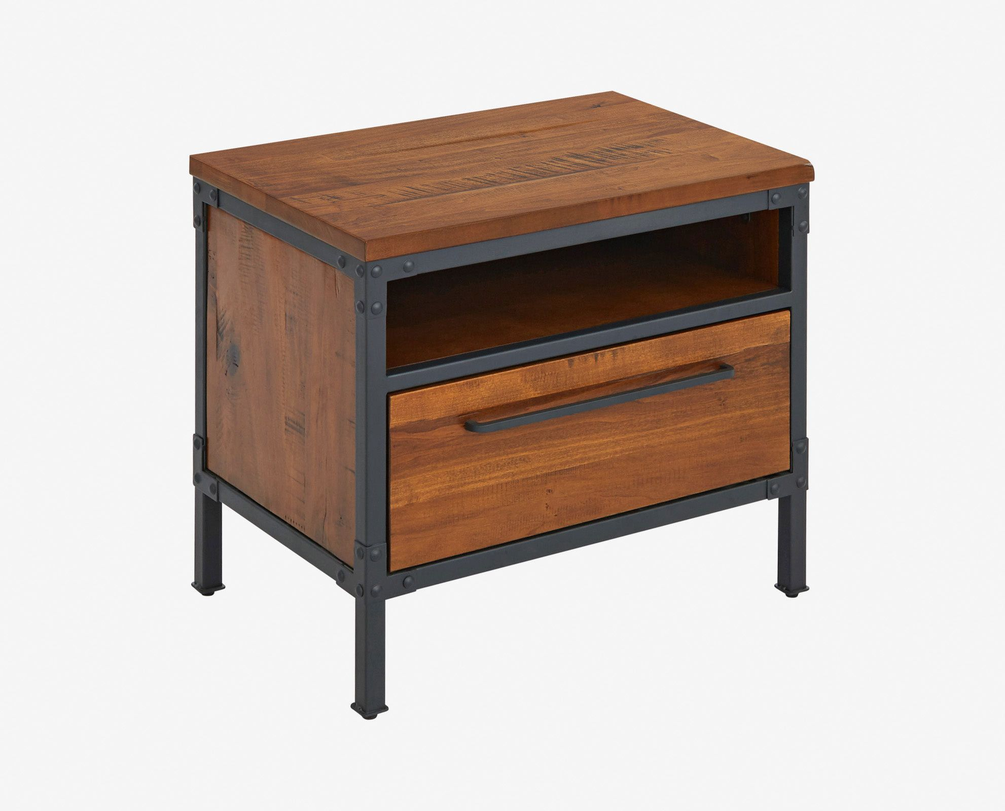 insigna nightstand bedroom furniture end table dimensions tiny dog cage miami dolphins yeti cooler grey finish coffee garden box yellow bedside lamps queen anne dining chairs