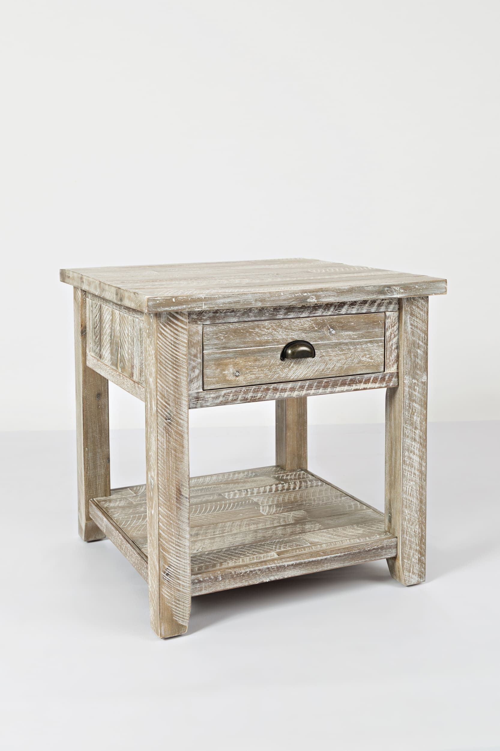 jofran artisan craft washed grey end table reviews goedekers coffee tables raw wood furniture mission calgary high nesting console black nest glass pipe leg plans contemporary