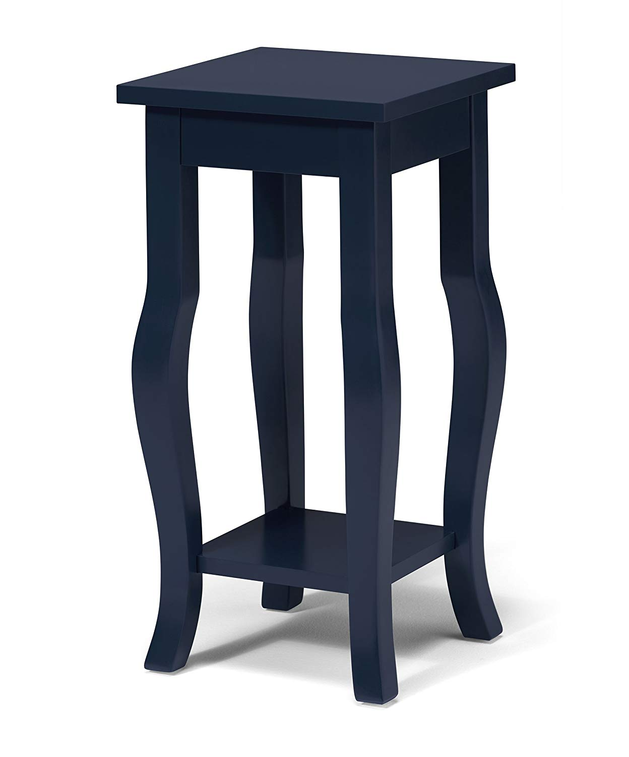 kate and laurel lillian wood pedestal end table curved navy blue legs with shelf kitchen dining big lots cups adjustable dog crate western magnolia home mirror legends furniture