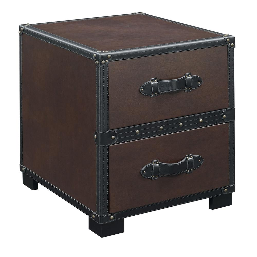ket house furnishings newport cherry transitional end table tables wood with drawer the build your own nightstand ashley north shore round dining occasional drawers room sets