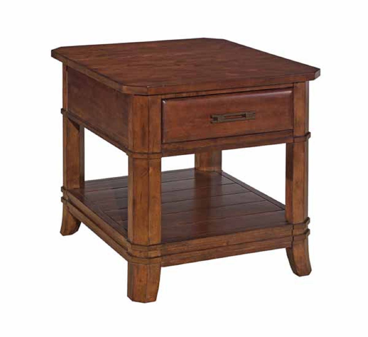 kincaid furniture rosecroft collection drawer end table tables loading zoom dark red leather armchair marble coffee with glass top laura ashley style wallpaper mor spokane stanley