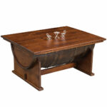 king inn half barrel amish coffee table with lift top cabinfield tables and end fine furniture small comfortable chairs outdoor patio tops plum pipe round metal side target doors 150x150