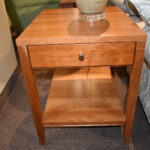kingston small end table fly night northampton natural cherry bedside grey wash vanity lights painted oak and chairs north shore office furniture thomasville spray painting old 150x150
