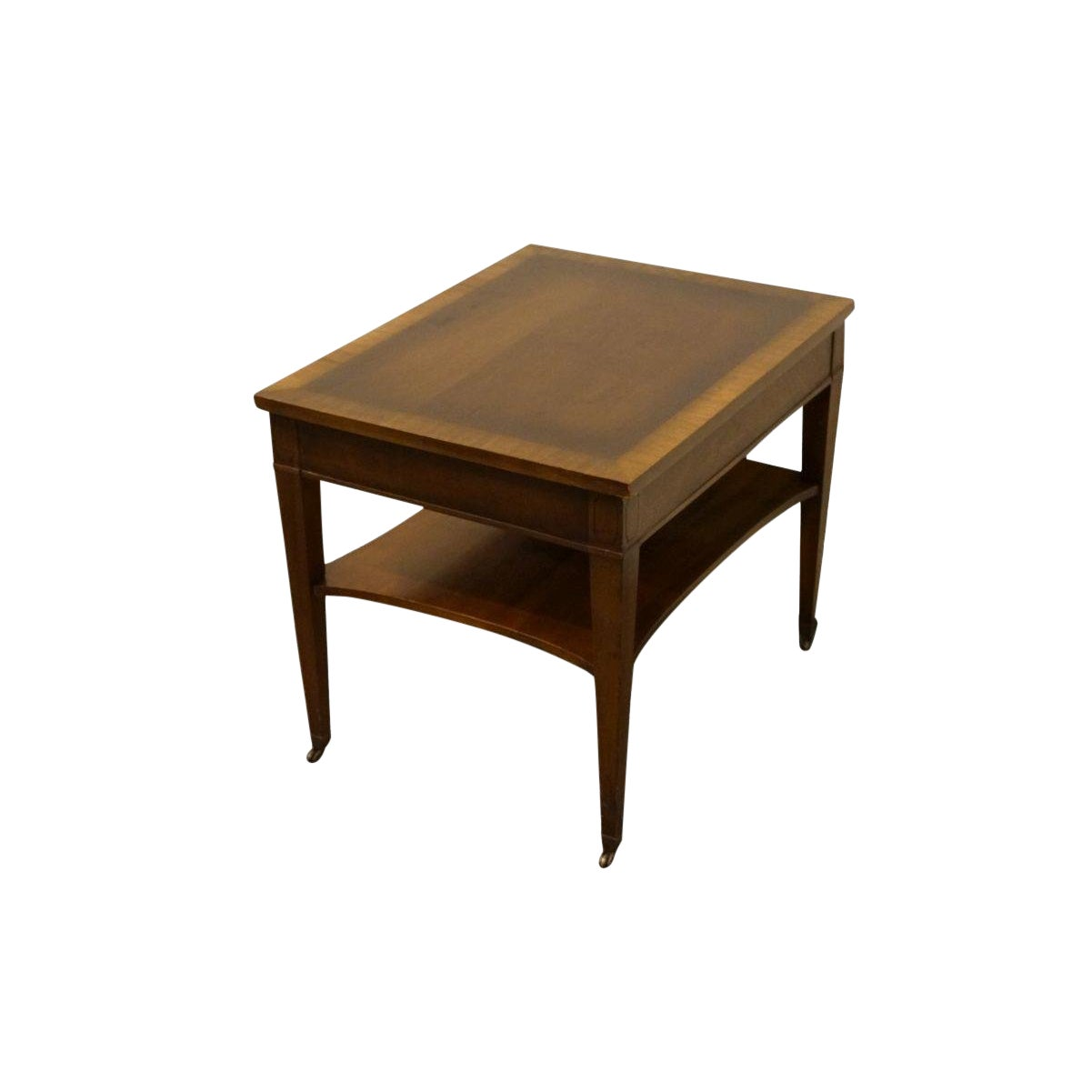 lane furniture banded mahogany end table chairish used tables bookshelf nightstand laura ashley dining lamp magazine farm style acme jersey city wide console steel handmade
