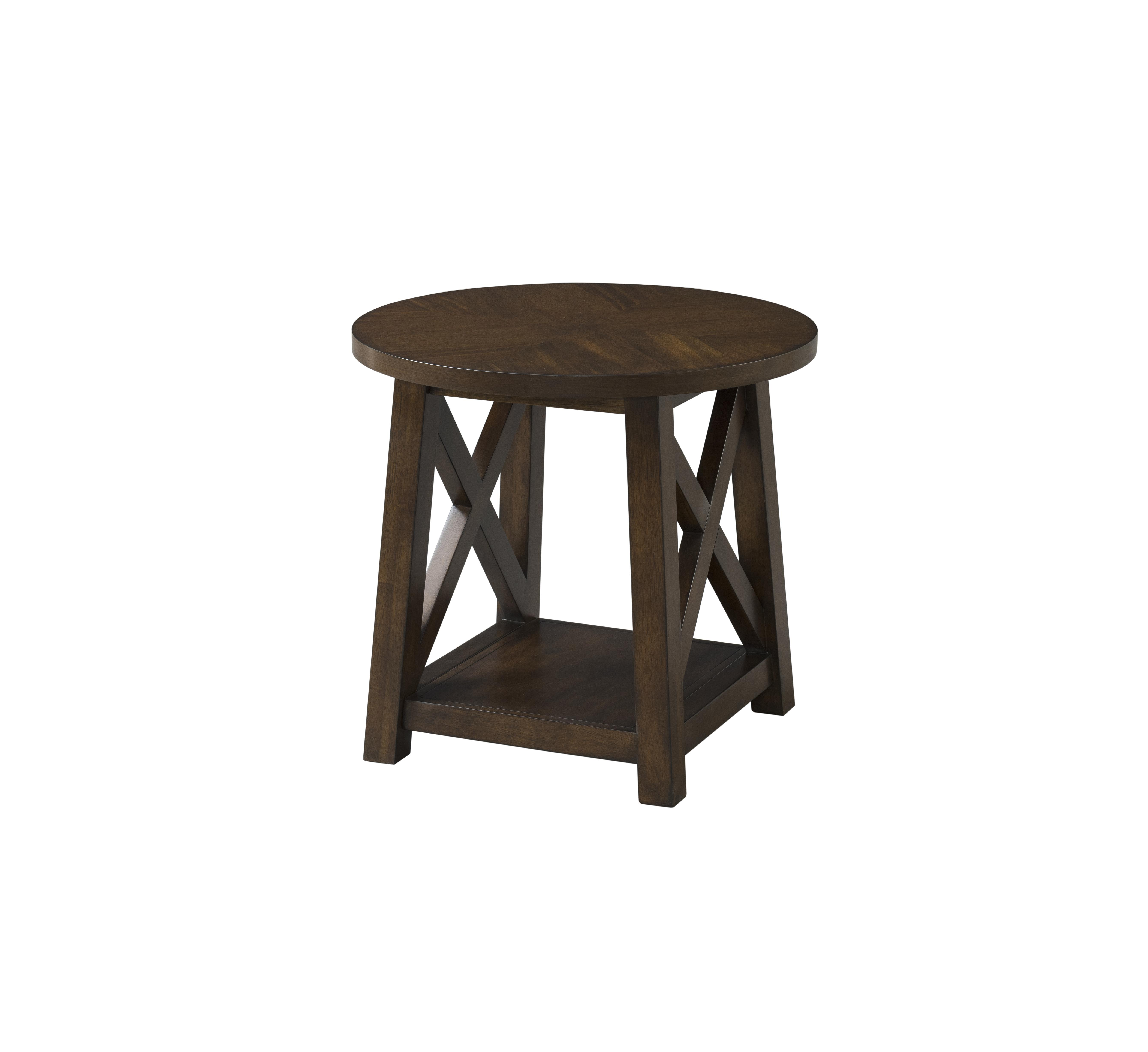 lane furniture brown cherry round end table the classy home lnf finish click enlarge magnolia theater mission style night tables row accent chairs farm wood coffee speakers dog