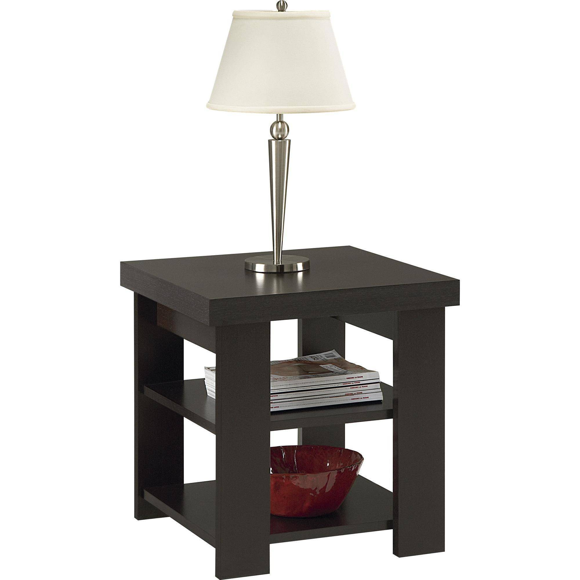 larkin espresso end tables value bundle narrow patio table tree coat rack glass console tall lamp laura ashley catalogue oak coffee with top gamble furniture elegant dining chairs
