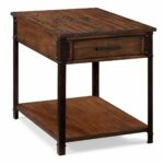 larkin rustic natural pine end table with storage free magnussen rectangular espresso tables shipping today laura ashley catalogue industrial pallet furniture gamble oak seconds 150x150