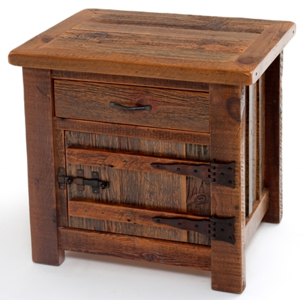 latest rustic bedroom end tables ideas barnwood nightstands furnishings ashley coffee metal wire table diy black pipe dark brown leather lounge kmart ladies tops entrance