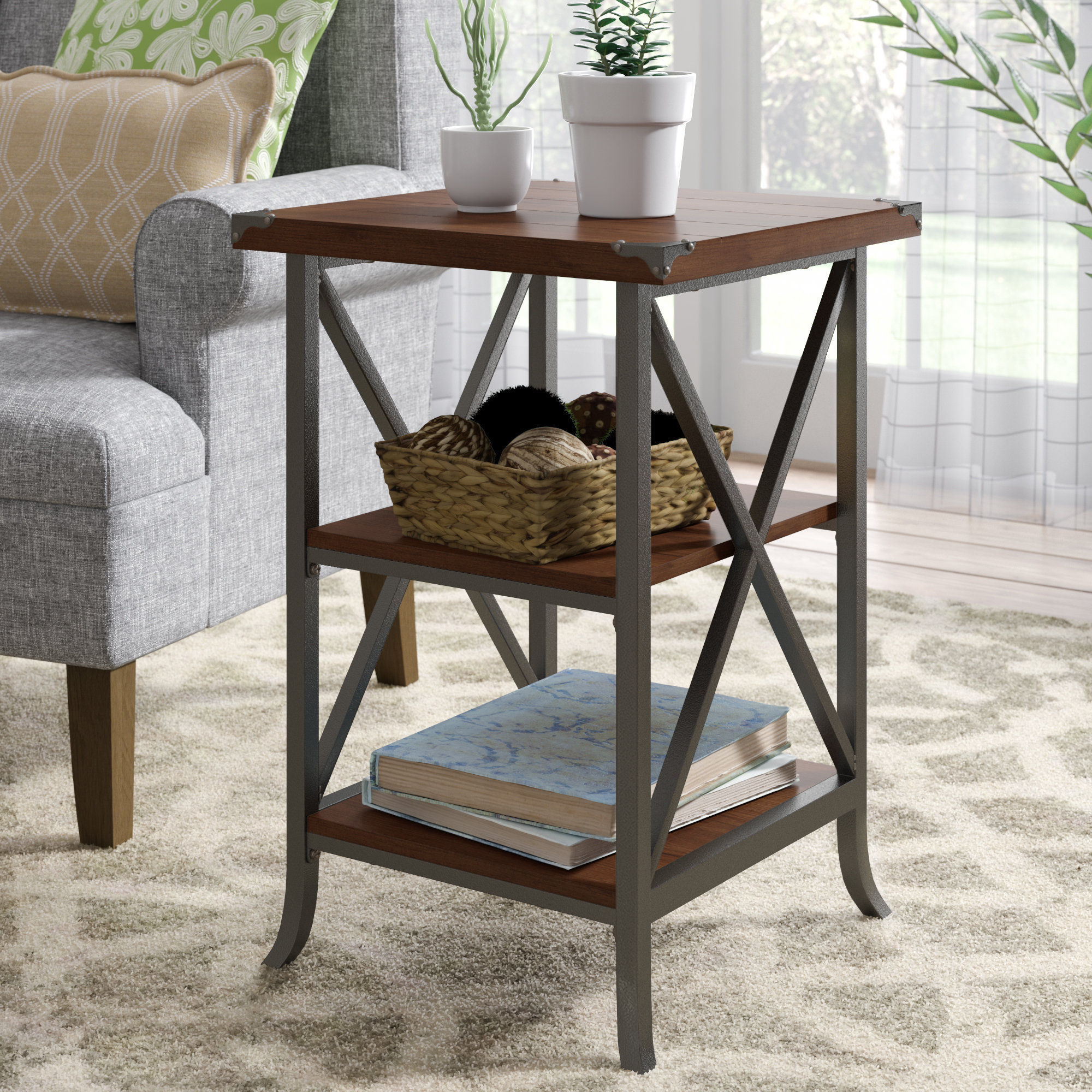 laurel foundry modern farmhouse justina end table reviews tables our sites weather sauder office storage cabinets unfinished bedroom vanity console width liberty furniture cabin