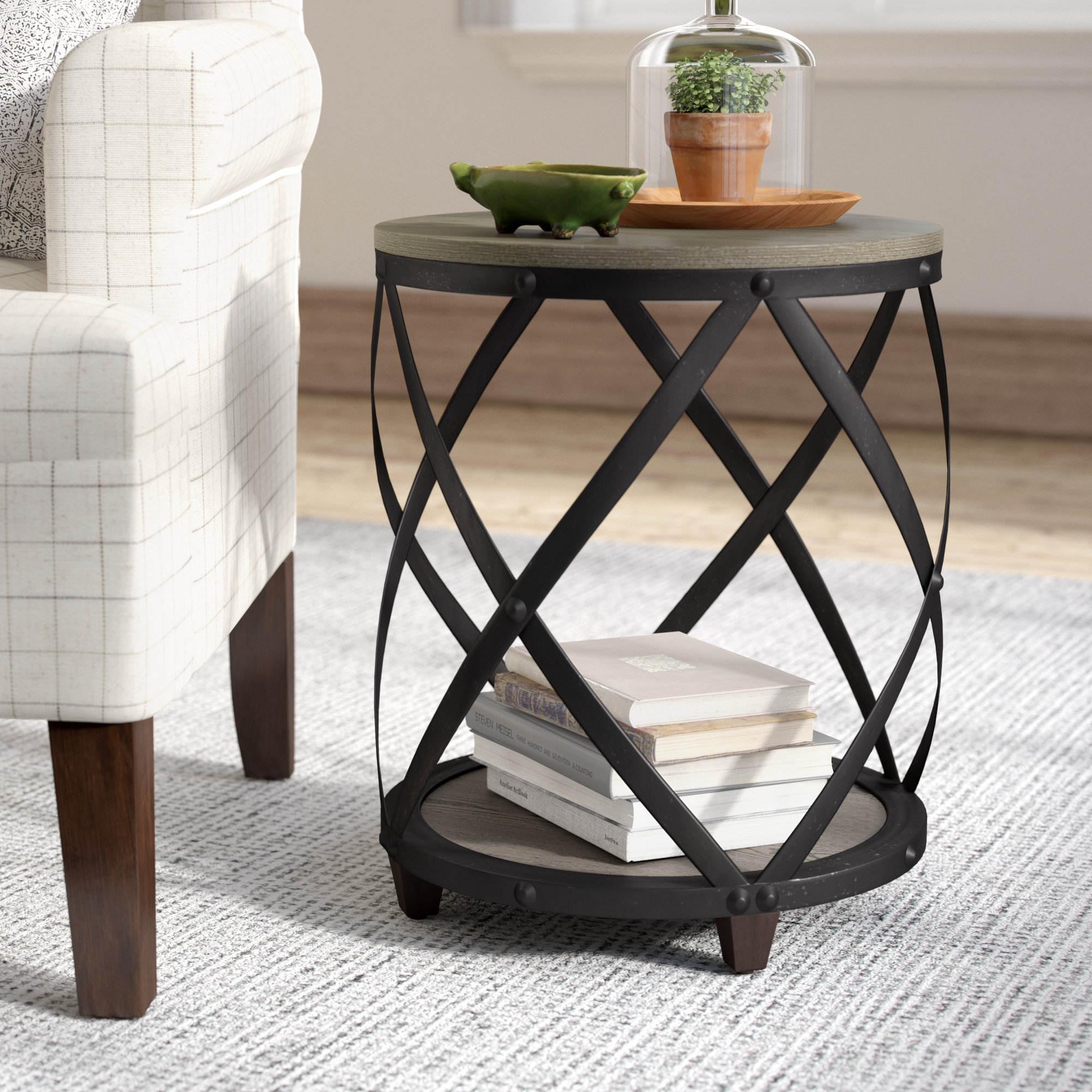 laurel foundry modern farmhouse rubino end table reviews rustic tables our sites coffee and occasional big lots living room rugs stickley chair metal glass dog cage plans