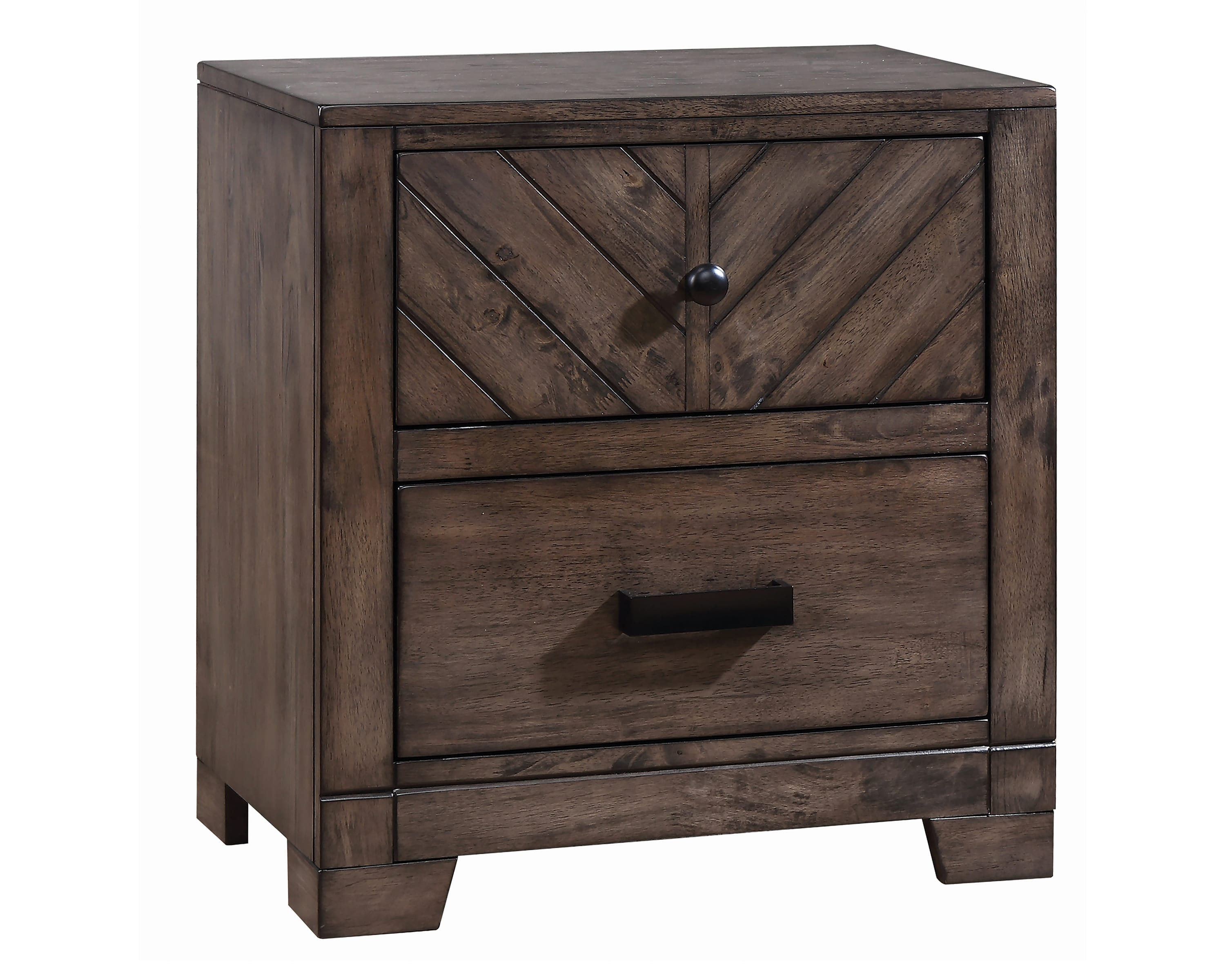 lawndale rustic nightstand coaster fine furniture bedroom end tables nightstands diy black pipe table slate grey coffee easy pallet contemporary side entrance cocktail edmonton