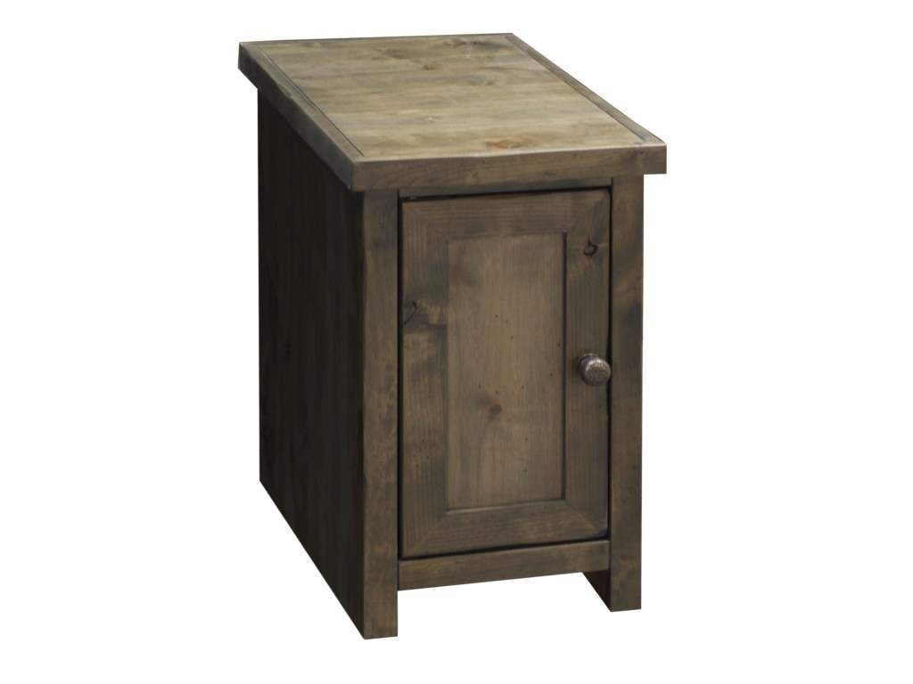 legends furniture joshua creek chair side table with products color bnw end tables creekjoshua door grey wicker patio ashley trinell coffee french night feceras tall behind couch
