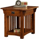 leick furniture mission drawer end table solid ash and oak tables veneers kitchen dining buffet small chairs for living room best coffee reclining sofa nightstand lamp height 150x150