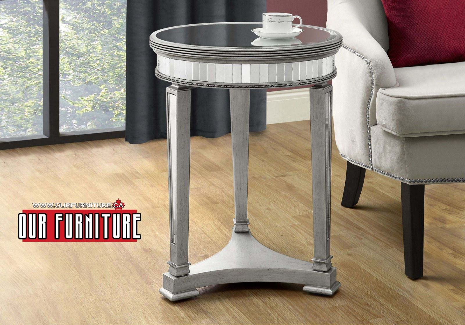 let this gorgeous accent end table light your room and give tables toronto that special sparkle ourfurniture interiordesign homedecor universal furniture reprise magnolia house