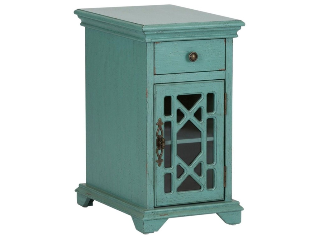 liberty furniture ashvale cottage drawer door accent products color end table glass cabinet sofa with nesting ott super big lots trunk style tables stone living room marble coffee