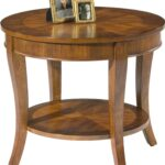 liberty furniture bradshaw round end table with shelf products color cherry mirror tables drawers small painted coffee farm style expensive dining dark wood black glass top set 150x150