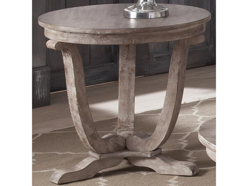 liberty furniture greystone mill transitional round end table products color royal tables millend coffee barrie broyhill old world collection modern side very skinny console small