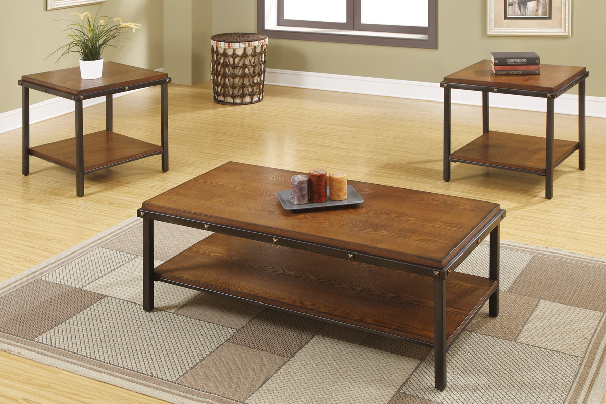 light brown coffee table set las vegas furniture virtuemart product end tables modern home cornerstone lexington youth tin glass dining stanley console high teal blue ashley