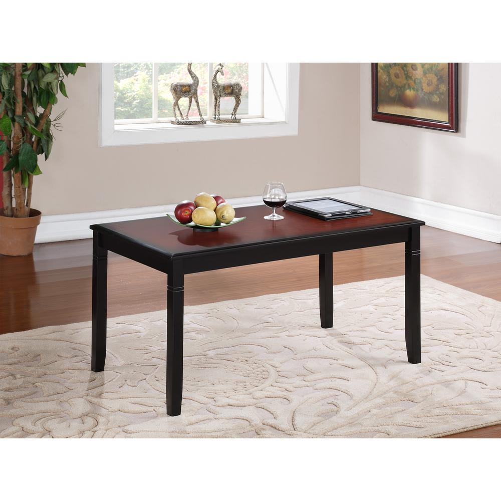 linon home decor camden black cherry coffee table tables wood end and the teal glass norwood furniture broyhill trunk tall white bedside drawers riverside chairs ashley fine
