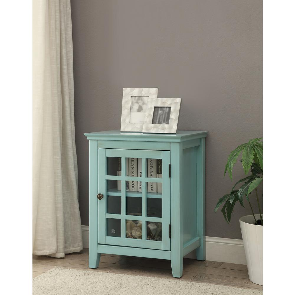 linon home decor largo antique turquoise storage end table tables the ethan allen room planner floor lamp set big lots kitchen sets stanley furniture desk and hutch wrought iron